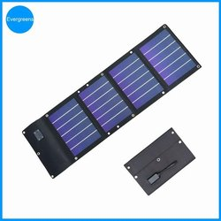 12W folding amorphous solar charger, solar panel installation costs