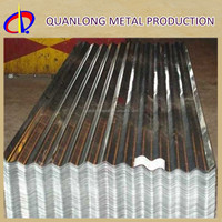 Hot Dipped Decorative Metal Roof Corrugated Sheet For Roofing