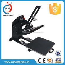 Auto open fashion dress heat press/cheap used T shirt printing heat press 38x38'(JC-5C)