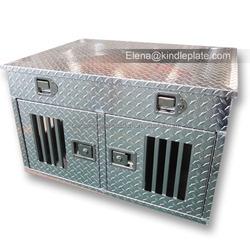 Manufacturer wholesale diamond plate aluminum large cage dog run kennels