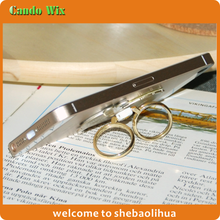 OEM/ODM metal double rings holder for mobile phone