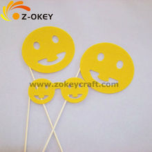 Smile face 2013 party favor stage property in 3 piece kit