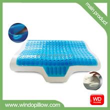 memory foam and latex cold gel pillow