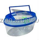 Aquarium large turtle box pet box cylinder goldfish bowl 206-A/207-B for choice