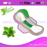 cool pad Shuya Anion Sanitary napkin from China