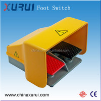 waterproof two pedal push button foot switch / tattoo machine foot switch