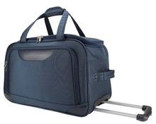 New Design 100% Polyester 30 Inches Wheeled Duffle Travel Trolley Bags