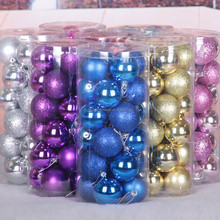 glass ball christmas tree decorations ornaments for shopping mall