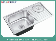 fashion design short-time delivery Professional factory produced rustic kitchen sinks 8245
