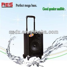 Aier wholesale pro portable speaker 5 band EQ PC/VCD/DVD/CD/TV Microphone priority