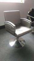 2015 Modern Hairdressing furniture sale cheap/Grey hair salon barber chair with nice workmanship