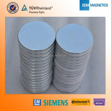 ISO/TS16949 N35 N38 Neodymium magnets for remove clothing alarms