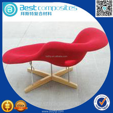 BST Composite materials FRP furniture,high strength FRP royal chair made in China