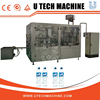 Hot sell U TECH 3-in-1 bottle washing filling capping machine / mineral water bottling plant