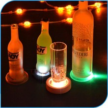 High Quality Party Favor Led Flash Coaster Mat