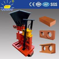 eco brava manual interlocking brick making machine / soil interlock block machine / hand press brick machine