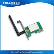 Mini pci-e lan card desktop 150m realtek wireless wifi Desktop adapter 1T1R 2.4GHz 150Mbps Wireless PCI-E Adapter