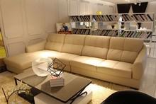 spanish sofa leather bed design living room furniture sofa leather lounge suites J865