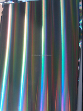 custom over printable PET holographic lamination film for printing and packaging