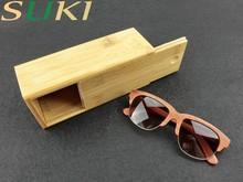 Hot Sell we wood sunglasses dark lens sunglasses orange lens sunglasses