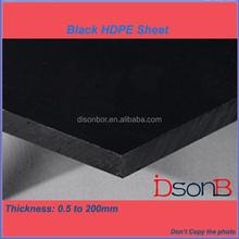 Plastic Manufacturer 100% Virgin Material Black HDPE Sheet
