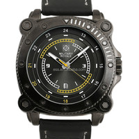 MR083 Mens Black Dial Military Watches Fashion Vogue Watch Timepiece