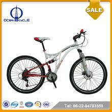 Steel Full Suspension Bicycle Mountain Bike MTB Bicycle
