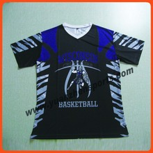 personlized sublimation basketball jerseys as your artwork no moq