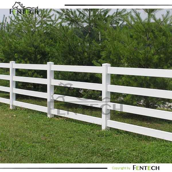 Hot selling high quality pvc horse fence with flexible