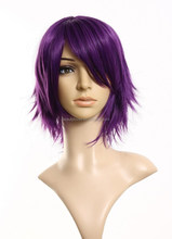 cheap synthetic cosplay wigs for men prices purple short hair wigs wholesale