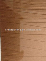 mdf board-high glossy embossed metal uv board for kitchen cabinet