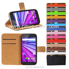 for motorola moto x style leather case with cards holder, wallet case for moto x style, for motorola moto x style flip case