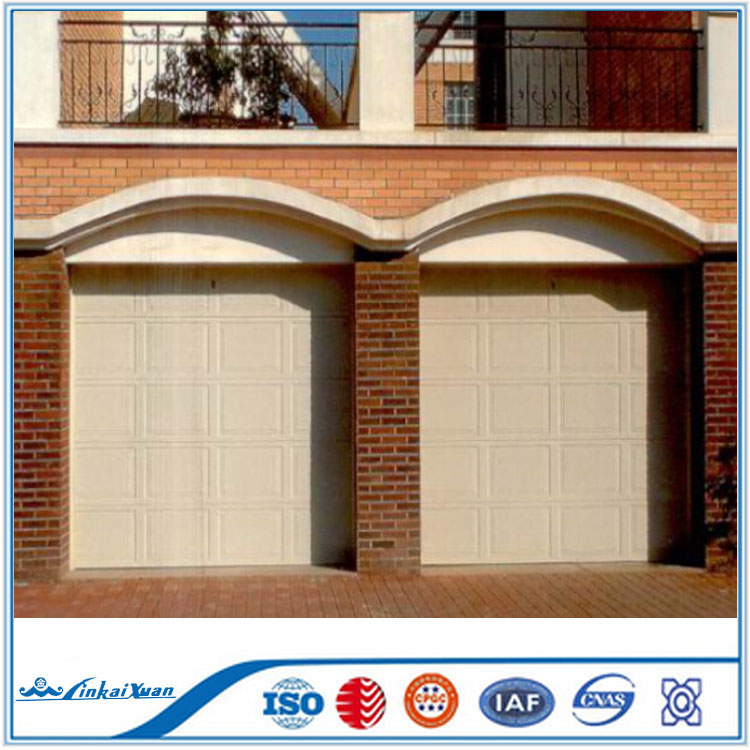 Finished surface finishing and garage doors with remote for Surface garage double