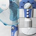 16 polegadas altura suporte ajustável do ventilador
