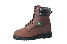 "CSA 8"" Brown Work Boots"