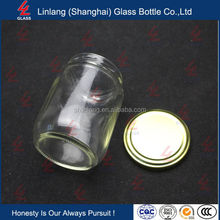 8 oz Round Glass Bottles