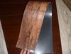 6*36inch*2.0mm wood pvc floor tile adhesive black