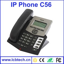 cheap price voip sip ip phone with Support HD voice with called id