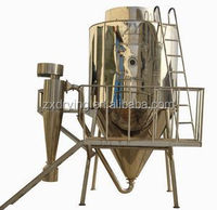 Crude vegetable protein curd mold spray dryer