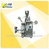 Automatic tea bag packing machine for inner and outer bag
