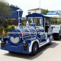 Amusement park carnival ride electric train