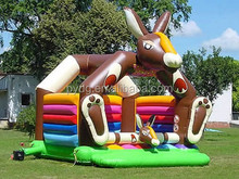 animals inflatable jumping bouncer kids playground outdoor inflatables