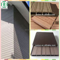 Madeira plasitc composite jardim de madeira para a construção de decoração