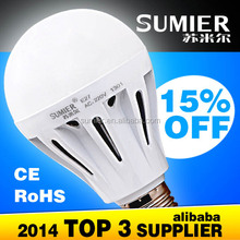 High power/Low power led bulb e27 50w replaced 7W lamp