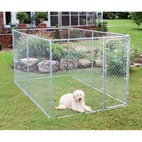 Large outdoor galvanized chain link pet enclosure/dog kennels/dog cage