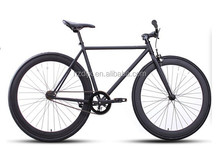 OEM offered 700C hi-ten steel single speed road bike made in China