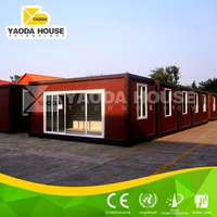 Prefab modular and prefab living container house for refugee camp