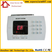 China Manufacturer Wireless 99 Guard Defense Zones TEL Business Alarm Systems