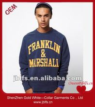 New in wholesale sweatshirt for men 2012