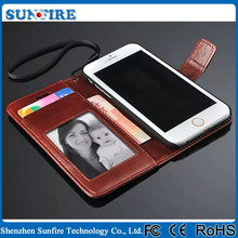 for iphone case leather flip cover, for iphone 6 case leather, for iphone 6 leather case